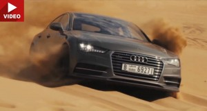 Audi's A7 Sportback Looks Confident While Taking On Dubai's Sandy Dunes
