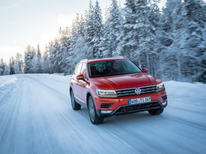 German motoring magazine, Autobild, has named the New 2016 Tiguan as all-wheel drive car of the year during its 2016 awards