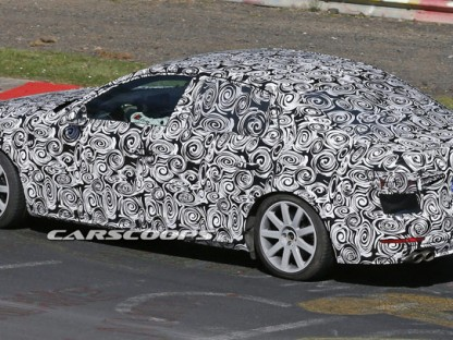 Spied: Next Audi A4 Puts On Its S4 Performance Suit