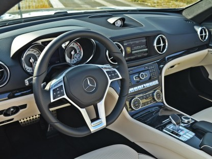 Mercedes-Benz SL400 Driven To See If Twin-Turbo V6 Transforms Base Model
